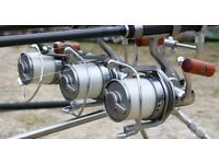 Wanted big pit reels , terminal tackle and baits , line ect