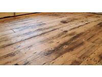 Wooden Floor Specialist. Floorboard Sanding, Painting, Varnishing, Waxing, Shabby Chic. 10 years exp