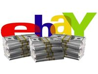 Ebay Consultancy £300, make extra income, 100 - 650 for first months !