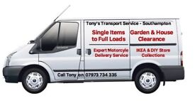 Man with a Van Service - Tel 07973734335