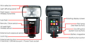 (BARELY USED) Nissin Di866 Flash for Nikon