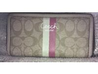 Lovely coach wallet for sale