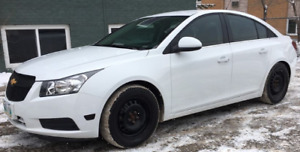 $6999---108KM-CERTIFIED-2013 CHEVY CRUZE-NEW TIRES-TINTED