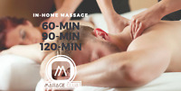RMT massage by MASSAGE CLUB in- home, office or hotel