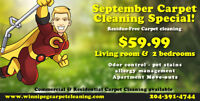 $59.99 - September Carpet Cleaning Special