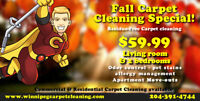 59.99 - Fall Carpet Cleaning Special!