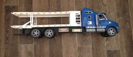 Toy car truck and loader