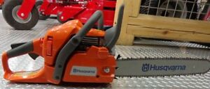 "Husqvarna 445 18"" 2.8HP gas chainsaw - FOR RENT"