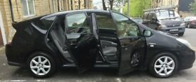 06' Toyota PRIUS t3 Full MOT auto black - hybrid- drives very well - £20 tax reliable and economical