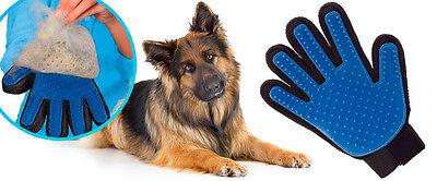Dog/Cat Grooming Glove Hair Remover Brush Glove - Moulting coat - UK Seller