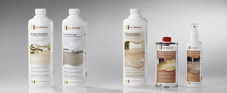 ter Hürne Putzmittel & Pflegemittel für alle Oberflächen Parkett Laminat Vinyl