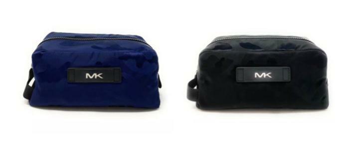 Michael Kors Toiletry Holder Bag Black Camo 37S0LACV1U $198 Bags