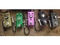5 mini fx pedals