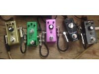 5 guitar fx pedals
