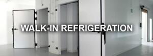 Walk in refrigeration coolers - assorted sizes - Absolutely the best prices - WHY BUY USED????