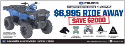 2017 SPORTSMAN 450 / SAVE $2250 on current promotion Fulham West Torrens Area Preview