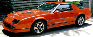 Looking for a Camaro Iroc red or black or other