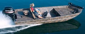 Cherche bateau Ranger MPV ou Lowe Roughneck usagé