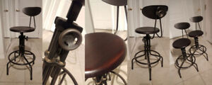 Modern Vintage Industrial Bar Chairs Stools - Must See