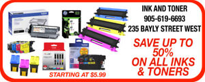 INK AND TONER CARTRIDGE REFILLS AND COMPATIBLES