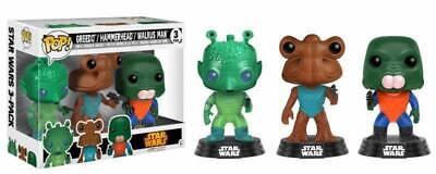 Star Wars POP! Vinyl 3-Pack 2017 Fall Convention Excl Funko DAMAGED OUTER BOX