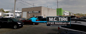 NEED NEW OR WARRANTEED USED TIRES? MC TIRE CAN HELP YOU!!!