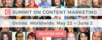 Summit On Content Marketing - Online|Worldwide / May 22 - Jun 2