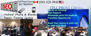 Cell phone repair Training Course Vancouver Surrey BC Canada