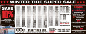 4 NEW WINTER TIRES 265/70R17 597.31 TAX IN