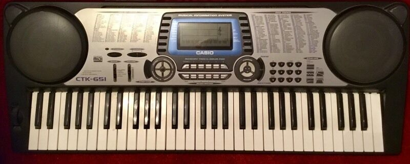 casio ctk 651 keyboard in stratford london gumtree. Black Bedroom Furniture Sets. Home Design Ideas
