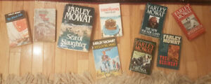Farley Mowat Book Collection