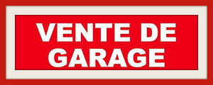 MEGA VENTE DE GARAGE -HUGE YARD SALE