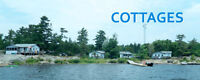 Cottages For Rent!!! Right on the Georgian Bay!!!