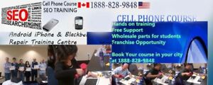 CELL PHONE REPAIR TRANINING COURSE VANCOVER BC CANADA