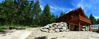 Lakeside Log Cabins For Sale - Lake Koocanusa, Montana