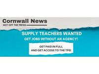 HIRING Cornwall Supply Teachers who want to get paid more - NO AGENCIES!