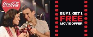 Cineplex BOGO movie passes
