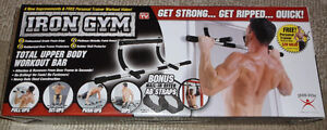 IRON GYM * GET STRONG * GET RIPPED * QUICK! * NEW! London Ontario image 1