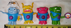 4 Home Movie Alien Figures