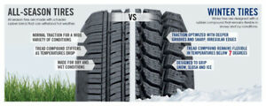 LOWEST PRICING ON ALL WINTER TIRES IN STOCK !!!!!!!!