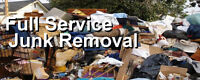 SUPER JUNK REMOVAL SPECIALS OFFERED ALL THROUGH MAY/JUNE
