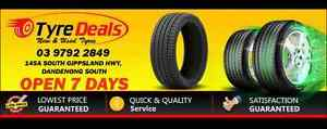 TYRE SALES!!! Cheap Passenger Tyres 4x4 All terrain&MT And Trucks Dandenong South Greater Dandenong Preview