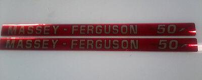 Massey Ferguson 50 Hood Decals
