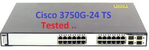 Cisco 3750g-24 With Brackets Catalyst C3750g-24ts- Gigabit Layer 3 Switch