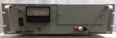 California Instruments 351tc Power Supply Ac