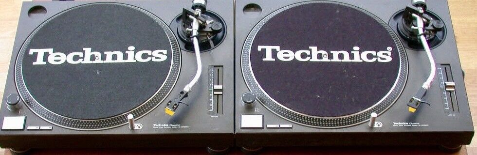 2x Pair of Technics MK2 SL1210's Black, DJ Deck turntables, in great  condition | in Worcester, Worcestershire | Gumtree