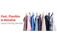 Ironing Services available at short notice - Flexible Hours, Affordable Rates