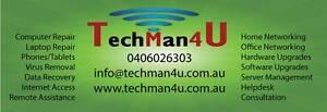 TechMan4U - Apple - Mac - Windows Windsor Gardens Port Adelaide Area Preview