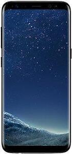 Galaxy S8 64 GB Black Unlocked -- 30-day warranty and lifetime blacklist guarantee