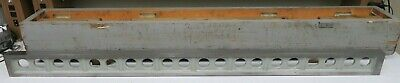 Busch Precision 6104 Parallel Straight Edge Cast Iron Size 1.5 X 4 X 60 Np11